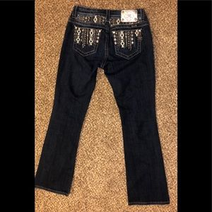 "Miss Me Jeans Size 27 with 31"" Inseam"